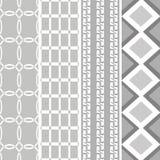 Tessuto bianco nero di stile del modello Fotografia Stock Libera da Diritti