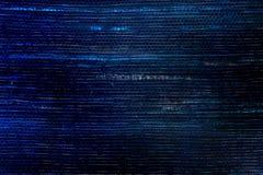 Tessuto blu astratto di incandescenza. Immagini Stock Libere da Diritti
