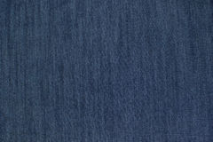 Tessuto blu del denim Fotografie Stock
