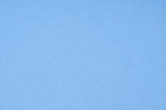Tessuto blu del fondo, struttura del tessuto. Fotografia Stock