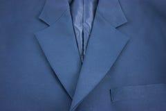 Tessuto blu della serie Fotografia Stock