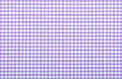 Tessuto checkered viola immagini stock libere da diritti