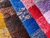 Tessuto colorato fotografie stock libere da diritti