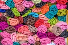 Tessuto colorato immagini stock libere da diritti