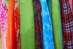 Tessuto Colourful Fotografie Stock Libere da Diritti