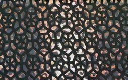 Tessuto con un fondo della stampa del leopardo Fotografia Stock