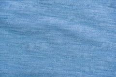 Tessuto corrugato blu-chiaro Fotografie Stock Libere da Diritti
