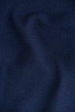 Tessuto corrugato blu scuro Immagine Stock