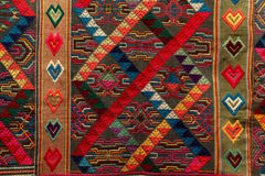 tessuto dal Bhutan Fotografie Stock