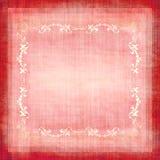 Tessuto decorativo Grunge dell'annata illustrazione di stock