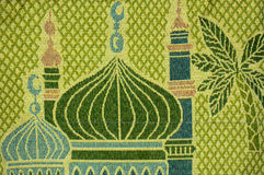 Tessuto decorativo islamico Fotografie Stock