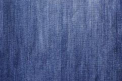Tessuto dei jeans Fotografie Stock