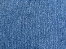 Tessuto dei jeans Fotografia Stock