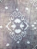 Tessuto del batik Fotografie Stock Libere da Diritti