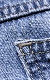 Tessuto del denim Fotografia Stock Libera da Diritti
