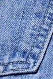 Tessuto del denim Fotografie Stock