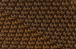 Tessuto del filo di acciaio Immagini Stock