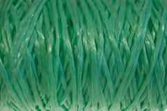 Tessuto del filo di verde del fondo di struttura immagini stock libere da diritti