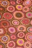Tessuto del fiore Fotografia Stock