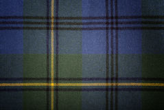 Tessuto del plaid Fotografia Stock