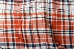 Tessuto del plaid con differenti colori Immagine Stock