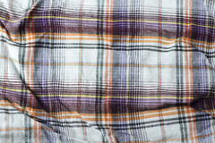 Tessuto del plaid con differenti colori Immagini Stock Libere da Diritti