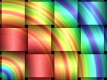 Tessuto del Rainbow Fotografie Stock