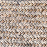 Tessuto del rattan Fotografie Stock
