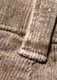 Tessuto del velluto di cotone Fotografia Stock Libera da Diritti