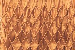 Tessuto dell'oro Fotografia Stock