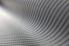 Tessuto della fibra del carbonio Fotografie Stock
