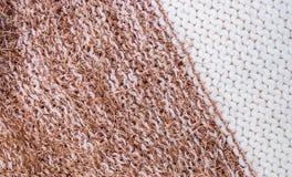 Tessuto della lana Immagini Stock Libere da Diritti