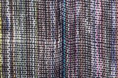 Tessuto della tela di struttura Fotografia Stock