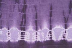 Tessuto della tintura del legame del Hippie Fotografia Stock