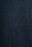 Tessuto delle blue jeans Fotografia Stock Libera da Diritti