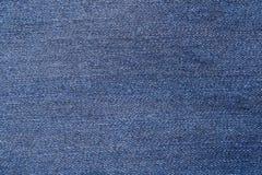 Tessuto delle blue jeans Immagine Stock Libera da Diritti