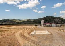 Tessuto di agricoltura Fotografia Stock