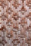 Tessuto di bambù Fotografia Stock