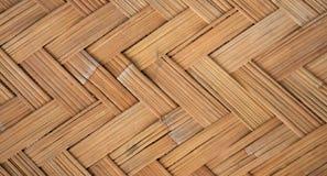 Tessuto di bambù Immagini Stock