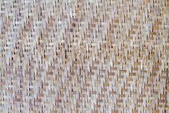 Tessuto di bambù Immagine Stock