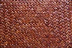 Tessuto di bambù Fotografie Stock