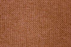 Tessuto di Brown con grande tessitura Immagine Stock Libera da Diritti