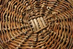 Tessuto di canestro Fotografia Stock Libera da Diritti