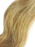 Tessuto di capelli biondi Immagine Stock Libera da Diritti