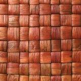 Tessuto di cestino Fotografia Stock
