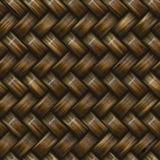 Tessuto di cestino della saia Fotografia Stock
