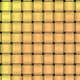 Tessuto di cestino dorato Immagine Stock Libera da Diritti