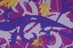 Tessuto di cotone colorato vino del fondo Fotografie Stock Libere da Diritti