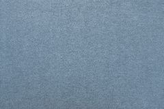 Tessuto di cotone del primo piano grigio-blu di colore Fotografia Stock Libera da Diritti