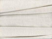 Tessuto di cotone piegato Fotografie Stock